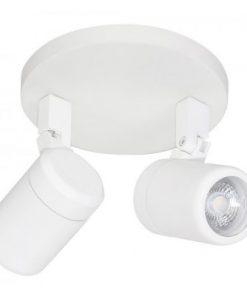 Highlight Spot Rain GU10 LED IP44 2 lichts