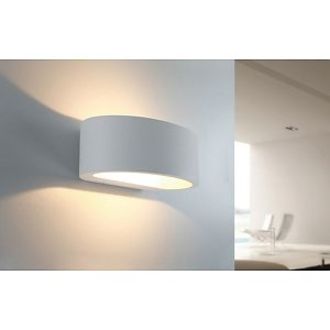 Wandlamp Sharp Led Wit IP54 - Superlicht Zoetermeer