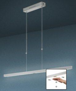 Hanglamp led knapstein met 2 sensor schakelaars/dimmer diverse maten