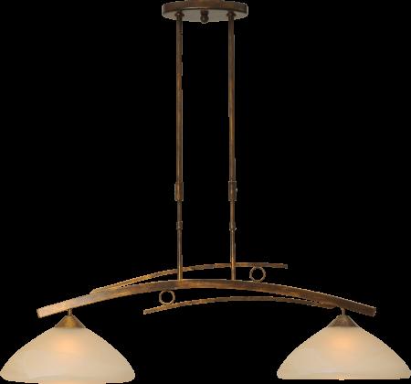 Masterlight Bolzano Hanglamp 2 Lichts