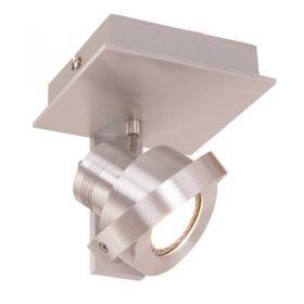 Wandlamp / Spots LED Quatro 7549ST staal