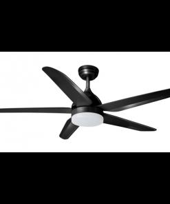 ETH 05-V9803-30 Plafondventilator the fan no. 4 zwart