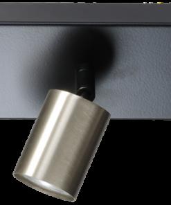 Bounce Masterlight 3 lichts Balk zwart/staal zwart/mat goud of zwart/zwart