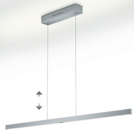Hanglamp Linn L134 Nickel mat LED (42W) met 2x sensordimmer