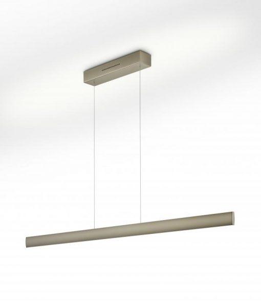 Hanglamp Runa 132 nikkel mat LED (62W) met 2x sensordimmer