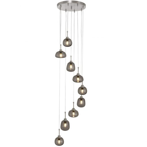 Hanglamp 9-lichts Bollique 2485ST