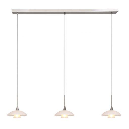 Hanglamp Tallerken LED 2654ST Staal