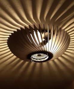 Orb Plafonniere 48 cm Naturel Blij Design