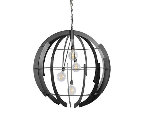 ZTaHL by Dijkos Hanglamp Terra 100 cm Zwart
